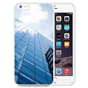 New Beautiful Custom Designed Cover Case For iPhone 6 Plus 5.5 Inch With The Reflection Of The Blue Sky (2) Phone Case