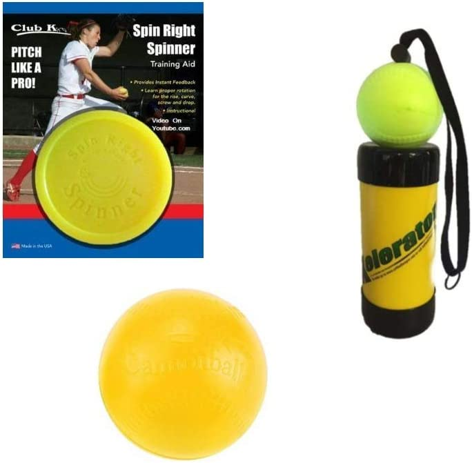 Club K Spin Right Spinner Fastpitch Pitching Training Aid Baseball Softball New