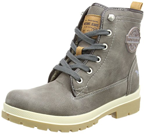 Courtes r booty Doublure kaffee Chaude Mustang Bottes Schn Femme Classics Marron 5qwxBXg