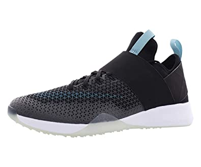 buy popular d1b0f 3b57c Nike Womens Air Zoom Strong Low Top Lace Up, Black Mica Blue-White