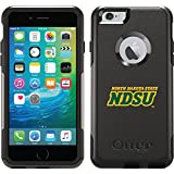 North Dakota State Ndsu design on Black OtterBox Commuter Series Case for iPhone 6 Plus and iPhone 6s Plus