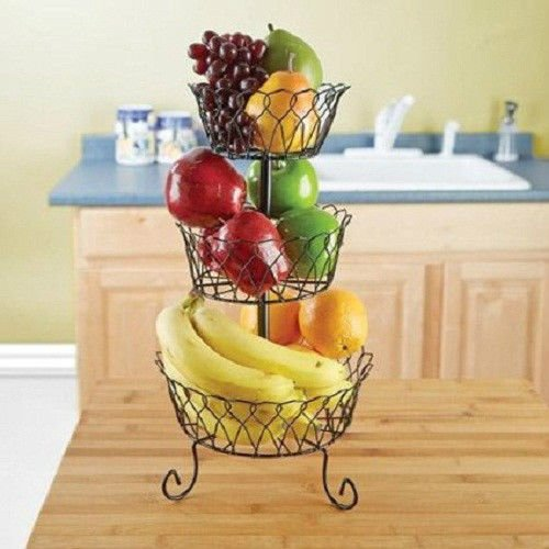 Vintage Counter Tiered Vegetable Basket product image