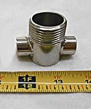 AFAB Enterprises 1/2'' Female NPT Adapter 304 S/S without Steam Purge