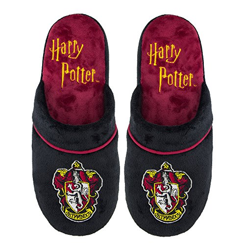 Harry Potter Slippers - Cuff Clog - Pillow Walk - Premium Durable Quality - Adults - Cinereplicas Gryffindor M/L EJB2IfXh