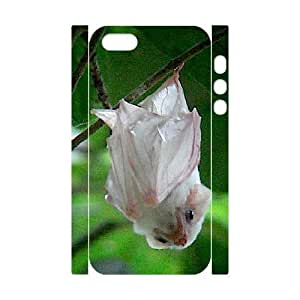 3D IPhone 5,5S Cases the Ghost Bat, Cute Girly & Cheap Bats Cases Pharrel, {White} by waniwa