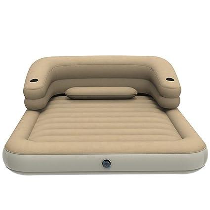 Doble inflable cama plegable al aire libre Sang Cama Hogar ...