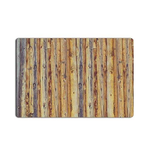 Libaoge Rustic Old Barn Wood doormat