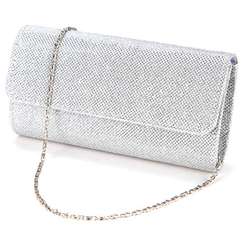 a4dbbf81840 Anladia Ladies Evening Party Small Clutch Bag Bridal Purse Handbag Shoulder  Bag: Amazon.co.uk: Luggage