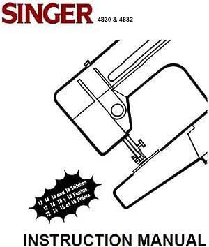 Descargar Pdf-File Singer 4830 4832 4814 84350 Máquina de coser ...