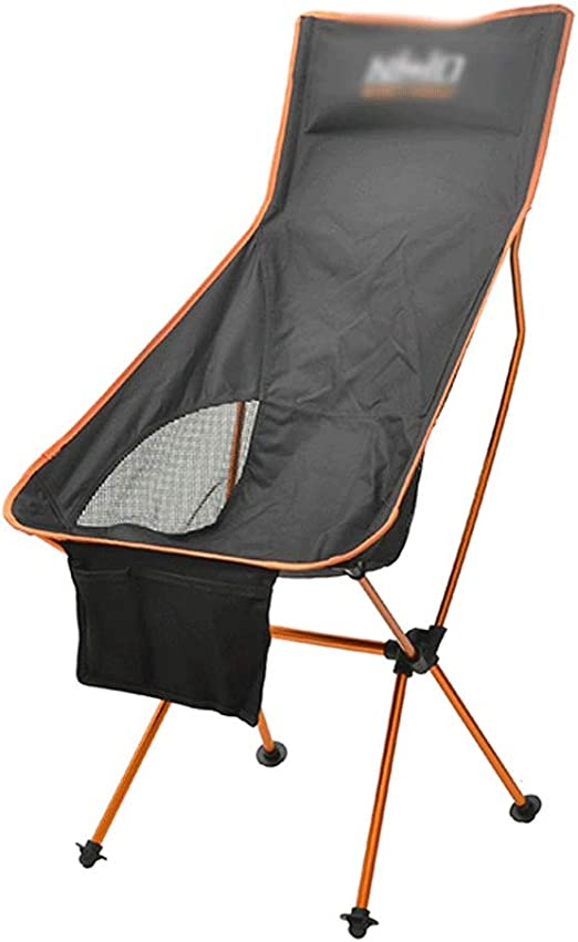 Xiao Long Silla de Camping Plegable for Adultos Silla Plegable for ...