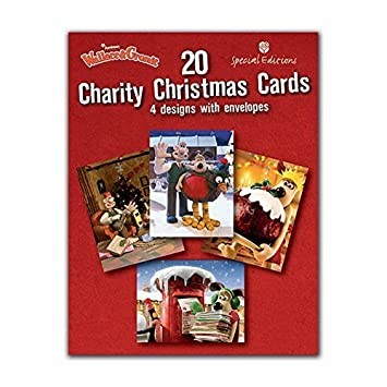 Wallace & Gromit Charity Box of 20 Christmas Cards: Amazon.co.uk ...