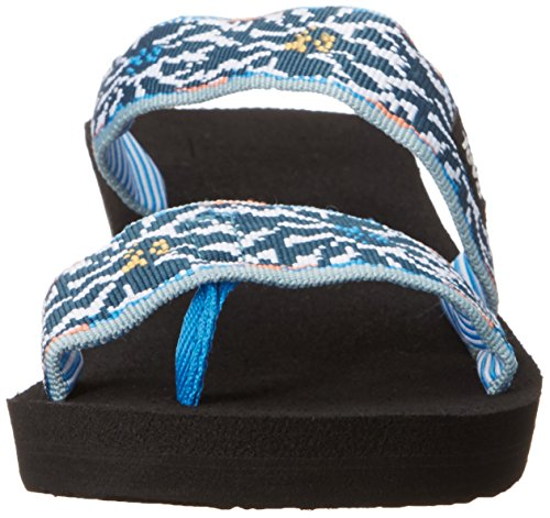 Teva Womens W Mush Mandalyn Wedge Loma Sandal Lucia Multi/Blue