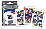 new york giants puzzle - MasterPieces NFL Sports Playing Cards, Blue, 4