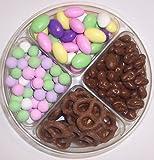 Scott's Cakes 4-Pack Chocolate Raisins, Chocolate Dutch Mints, Chocolate Jordan Almonds, & Chocolate Pretzels