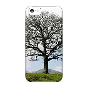 Tpu Cases Covers For Iphone 5c Strong Protect Cases - Lone Tree In Lake District Langdale Engl Design