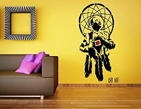 Banksy Martin Luther King 'I Have A Dreamcatcher' Wall Sticker Decal Unique Martin Dream Catcher