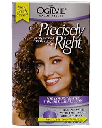 Amazon ogilvie precisely right perm for color treated thin or ogilvie precisely right perm for color treated thin or delicate hair solutioingenieria Images