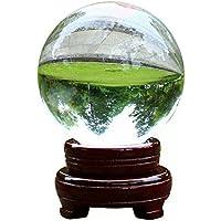 1 pieza clara esfera de cristal de cuarzo