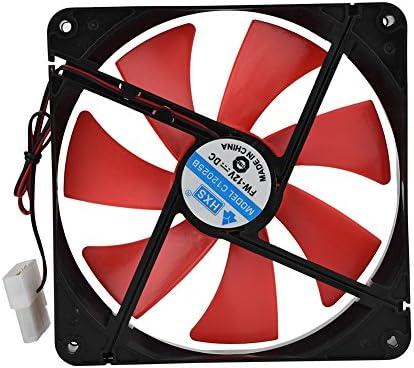 Kafuty Ventilador de Refrigeración de PC 14cm 12V Enfriador de ...
