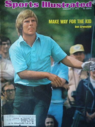 SPORTS ILLUSTRATED MAGAZINE February 11, 1974 Volume 40 No. 6 (Ben Crenshaw on cover. Golf.)