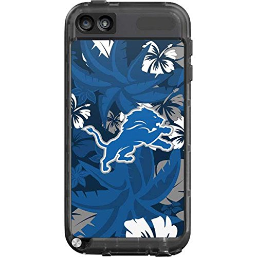 Skinit Detroit Lions Tropical Print LifeProof fre iPod Touch 5th Gen Skin for CASE - Officially Licensed NFL Skin for Popular Cases Decal - Ultra Thin, Lightweight Vinyl Decal Protection (Detroit Lions Ipod 5 Case)