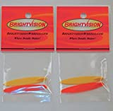 Two Sets of Redline Hot Wheels Deora Beach Bomb Replacement Surfboards - Brightvision - 1/64th Scale