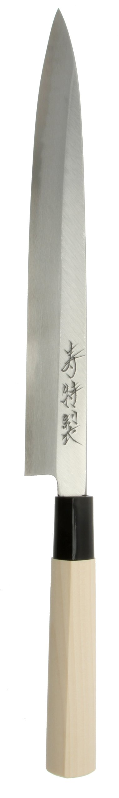 Kotobuki High-Carbon SK-5 Left-Handed Japanese Yanagi Sashimi Knife, 240mm by Kotobuki