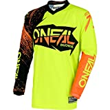 O'Neal 0008-914 Mens Element Burnout Jersey (Black/Hi-Viz/Orange, Large)