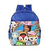 Kids Sheriff Callie's Wild West School Backpack Cool Baby Boys Girls School Bag RoyalBlue
