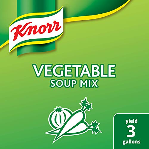 Knorr Professional Vegetable Soup Mix Vegetarian, No Artificial Flavors, No added MSG, 19.01 oz, Pack of 6 ()