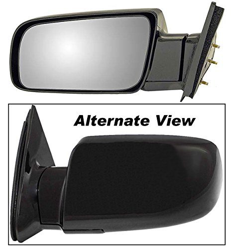 APDTY 066217 Side View Mirror Assembly Manual Adjust Glass Fits Left Driver-Side 1992-1994 Chevy Blazer 1988-1999 C or K 1500 2500 Series Pickup 1995-2000 Chevrolet Tahoe 1992-2000 GMC Yukon
