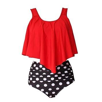 063c99e3e7c9 Bikinis Conjuntos Mujer Traje De Baño Bikini De Cintura Alta Traje ...