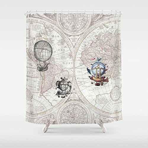 Amazon.com: Hot Air Balloon Shower Curtain 2: Handmade