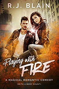 Playing With Fire by RJ Blain ebook deal