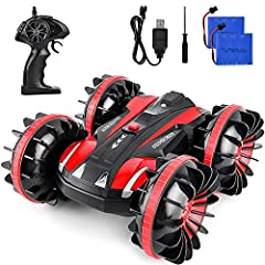 A Great Gift Choice for Boys Girls Package Include: 1x RC Car 1x Transmitter 2x 6V/700mAh Rechargeable Batteries 1x Screwdriver 1 x Usb Cable 1 x User Manual