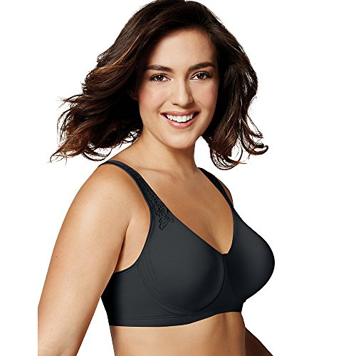Playtex 18 Hour Breathably Cool Wirefree Bra (4E78) 38D/Black
