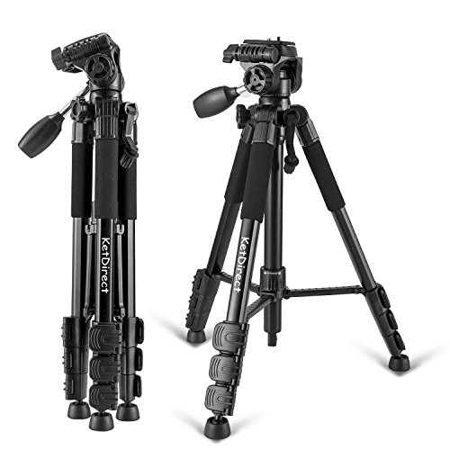 Camera Tripod, KetDirect K111 Aluminum Professional Lightwei
