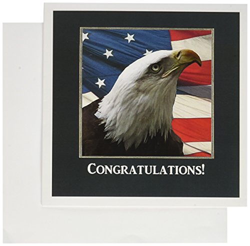 Eagle Eye, Congratulations - Greeting Card, 6 x 6 inches, single (gc_77322_5)