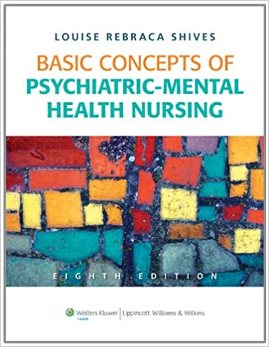 Basic Concepts Of Psychiatric Mental Health Nursing 8589304444441