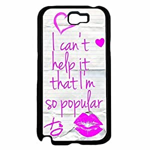 I Can't Help It That I'm So Popular Hard PC SILICONE Phone Case Back Diy For SamSung Galaxy S3 Case Cover