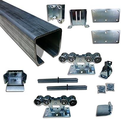 Kit de montaje de puerta corredera para camioneta: Amazon.es: Bricolaje y herramientas