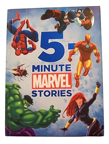 Marvel Padded Educational Storybook Collection with Foil Embellished Cover ~ 5 Minute Tales (2011; First Edition) (Foil First Day Cover)