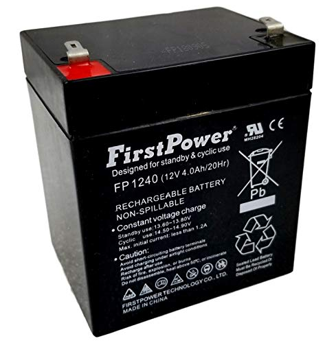 FirstPower FP1240 12V 4AH Deltec 1050 Replacement - Deltec Electronics