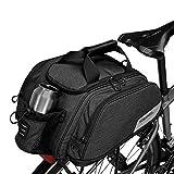 COTEetCI Bicycle Trunk Bag Multifunction Waterproof Pannier Bike Rear Seat Bag Cycling Cargo