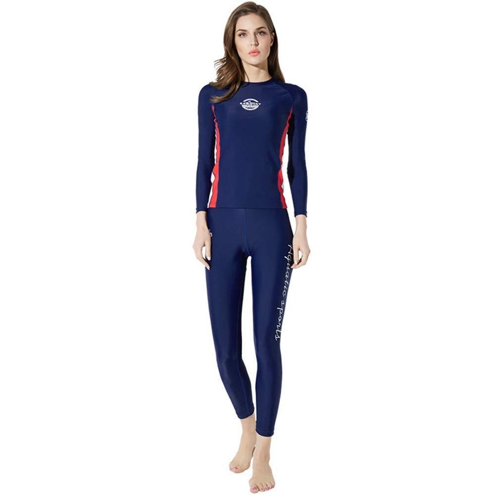 SABOLAY Womens Surfing Rash guards T-shirt Swimming Suit Pants Shorts Vest Diving clothes Suit