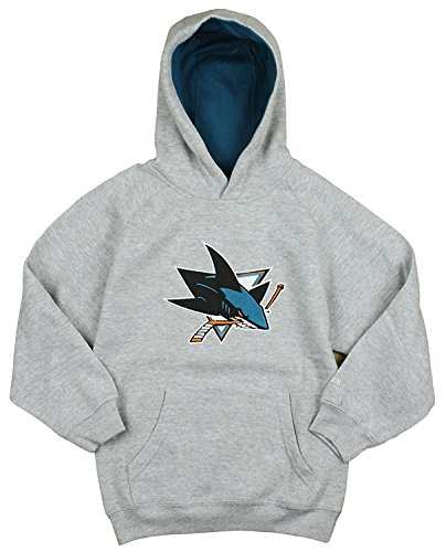 NHL San Jose Sharks Big Boys Sportsman Pullover Fleece Hoodie