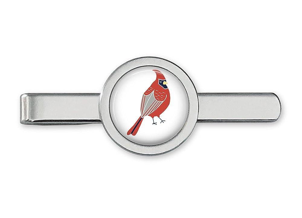 Cardinal pájaro cardenal de corbata Tie Bar: Amazon.es: Joyería