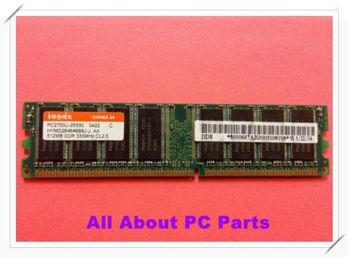 Hynix Ddr Memory - HYNIX PC3200U 512MB DDR 400MHZ CL3 MEMORY MODULE HYMD264646B8J-D43