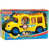 Toy / Game Fisher-Price Little People Lil' Movers School Bus With Three Wiggly-Wobbly Characters (Ages 1+)