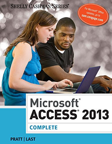 Microsoft Access 2013: Complete (Shelly Cashman Series) Pdf